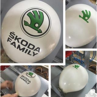 Воздушные шары в 2 цвета