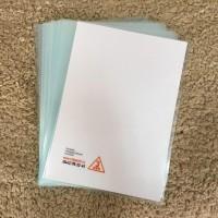 Папка уголок с печатью в 1 цвет