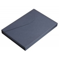 Коробка Trio под ежедневник, визитницу и ручку, синяя