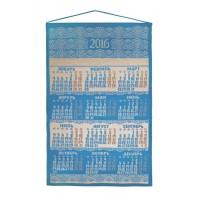 Календарь вязаный «Целый год в ажуре», лазурь