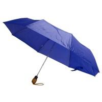 Зонт складной Wood, синий