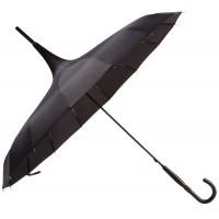 Зонт «Пагода», черный