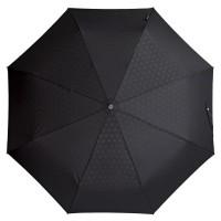 Складной зонт Gran Turismo, черный с рисунком