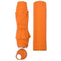 Зонт складной Floyd с кольцом, оранжевый