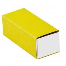 Коробочка под флешку, желтая