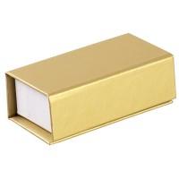 Коробочка «Блеск» под флешку, золотистая