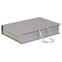 Коробка «Блеск» под набор, серебристая