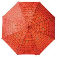 Зонт «Крыша над головой», красный