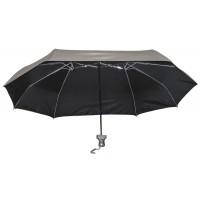 Зонт для двоих складной, серебристый