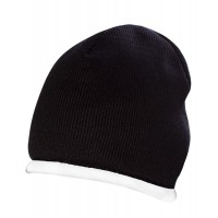 Шапка Winter sport, черная с белым