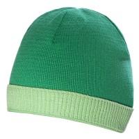 Шапка Top, зеленая с салатным