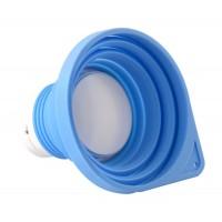 Беспроводная Bluetooth колонка SSSSSpeaker, голубая