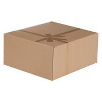 Коробка подарочная «Крафт», самосборная, малая