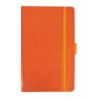 Ежедневник Lyric Mini, недатированный, оранжевый