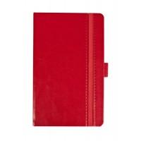 Ежедневник Lyric Mini, недатированный, красный