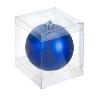 Прозрачная коробка для пластиковых шаров 8 см