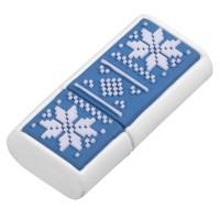 Флешка «Скандик», 8 Гб, синяя (индиго)