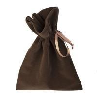 Подарочный мешок, коричневый