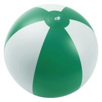 Надувной пляжный мяч Jumper, зеленый с белым