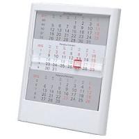 Календарь настольный на 2 года; белый; 12