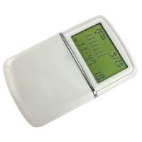 Калькулятор с календарем; белый; 6