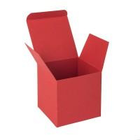 Коробка подарочная CUBE; 9*9*9 см; красный
