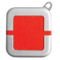 Зажигалка; красный; 4х4