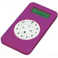 Калькулятор; розовый; 5