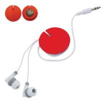 Устройство для скручивания наушников с креплением на магните; красное; 1
