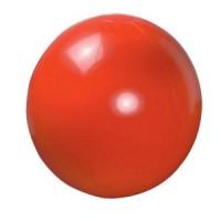 Мяч пляжный надувной; красный; D=40 см (накачан)